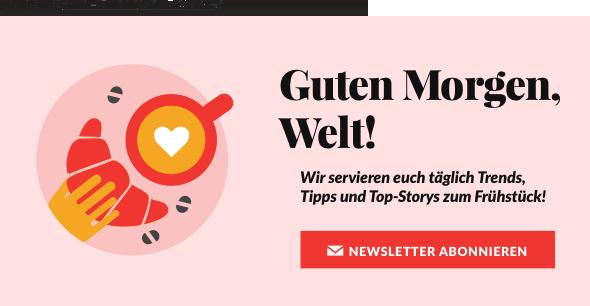 Brigitte Guten Morgen Newsletter